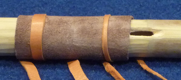 Detail of the Pettigrew/Rees model of the Breckenridge flute