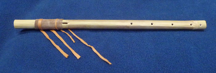 Model of the Breckenridge flute crafted by Devin Pettigrew and Jim Rees