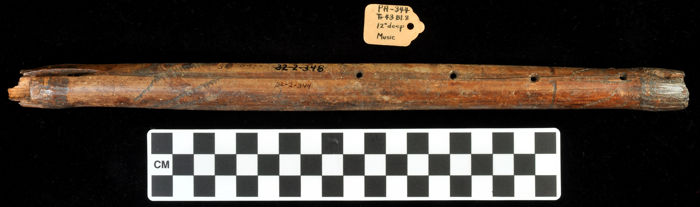 Dorsal side of the Breckenridge flute