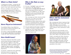Flute Circle Brochure - Riverwind Design