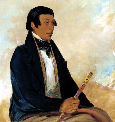 Portrait of Kee-món-saw, Little Chief, 1830