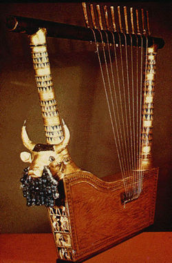 The Great Lyre of Ur, University of Pennsylvania Museum