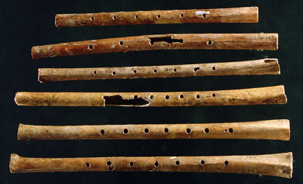 Jiahu Gudi - flutes from China 8,000 years ago