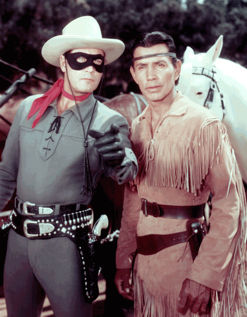 The Lone Ranger serial, starring Lee Powell and Chief Thunder Cloud