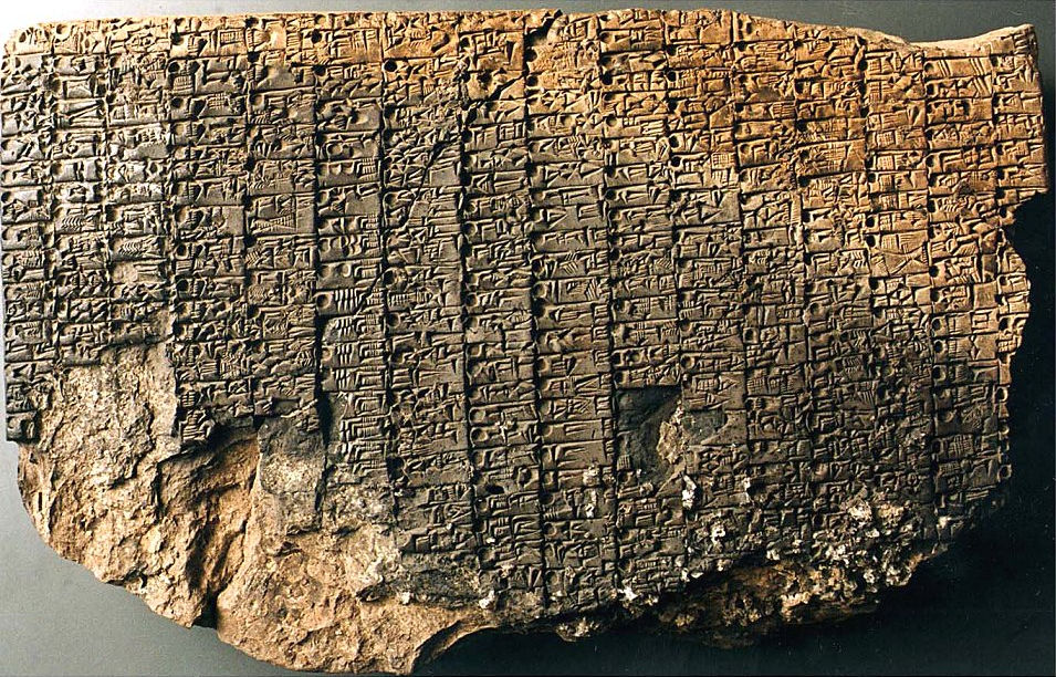 Sumerian Clay Tablet MS 2340 Describing Musical Tuning