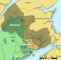 Maliseet Home Range