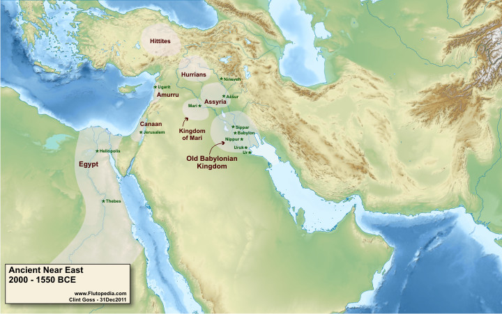 Ancient Near East - 2000-1550 BCE
