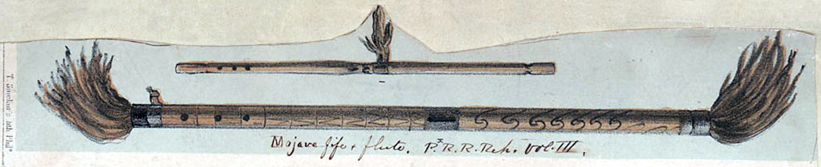"Large image of ""Mojave Fife and Flute "" by Thomas Sinclair"