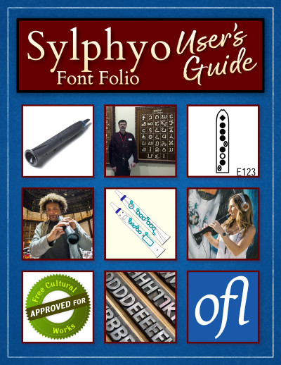 Sylphyo Font Folio - User's Guide