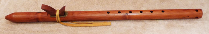 Toubat Flute, collection of Clint Goss