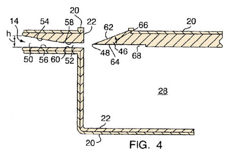 Figure 4 of U.S. Patent 6,872,876 B2