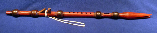 A-Minor 1870 Lakota Flute Replica made by Jon Norris