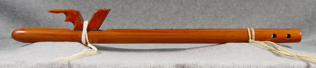 McKinley Standing Flute. Photo courtesy of Russ Wolf