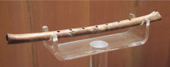 Image from Wikimedia Commons: Neolithic bone flute