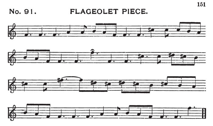 Transcription by John Comfort Fillmore