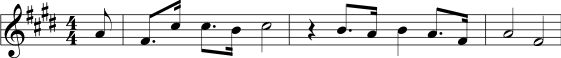 Example of Nakai Tablature