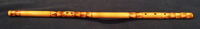 Papago style flute by Pat Partridge