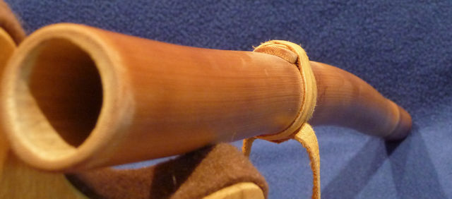 A warped flute - not a problem on this bamboo flute